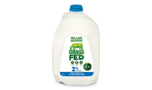 Grass Fed 2% Milk
