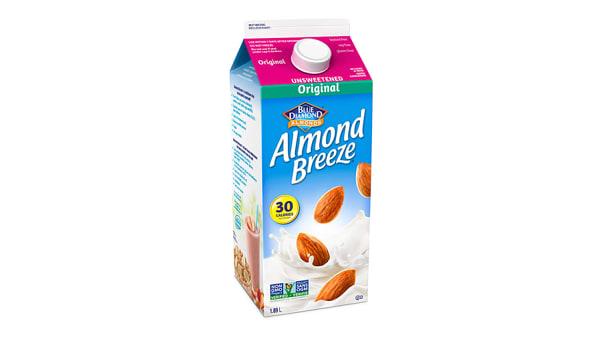 Almond Breeze Fresh - Unsweetened Original