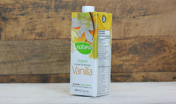 Organic Vanilla Enriched Soy Beverage