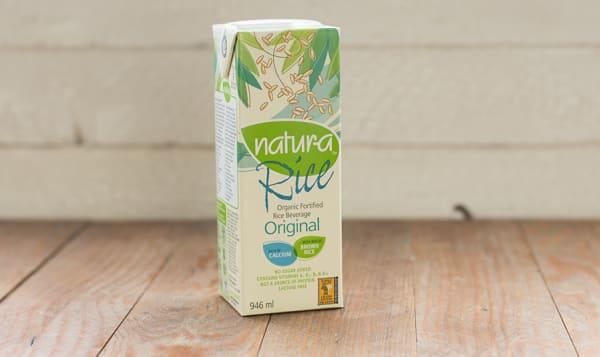 Organic Enriched Rice Beverage - Original