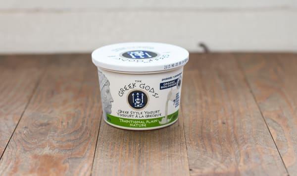 Organic Traditional Greek Plain Yogurt 10% MF