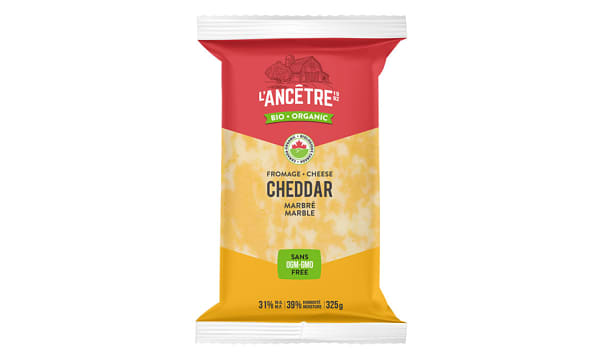 Organic Marble Cheddar Cheese