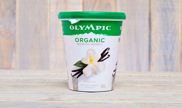 Organic French Vanilla Yogurt - 3% M.F.
