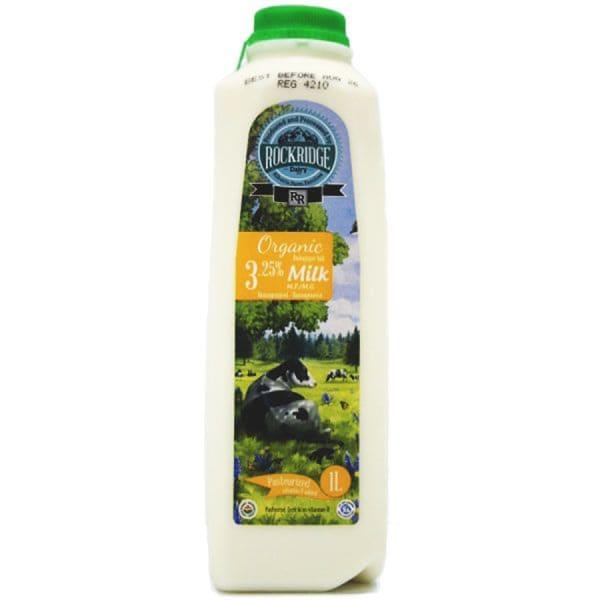 Organic Homo Jersey Cow Milk