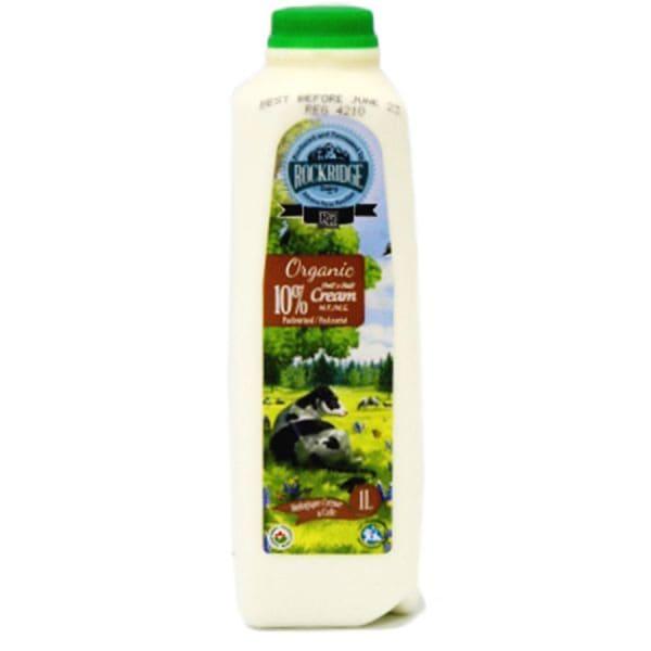 Organic Half & Half Jersey Cow Cream