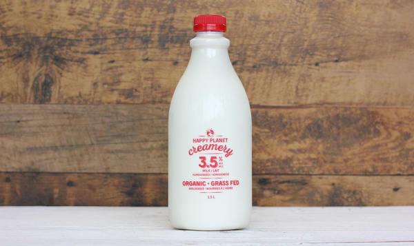 Organic 3.25% Grass-Fed Milk