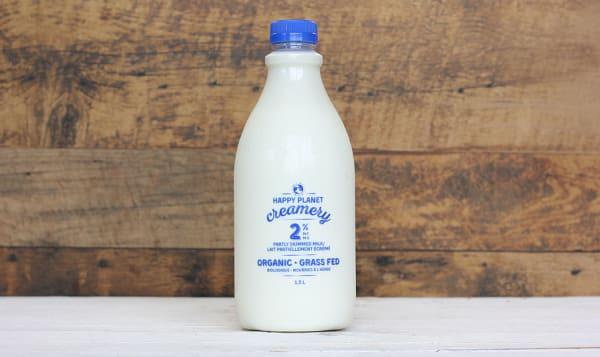 Organic 2% Grass-Fed Milk