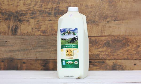 Organic 2L Whole Milk