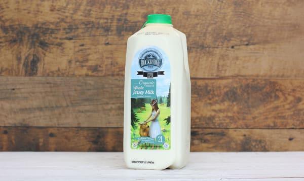 Organic Whole Jersey Cow Milk (~5% MF)