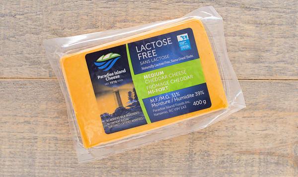Lactose Free Medium Cheddar