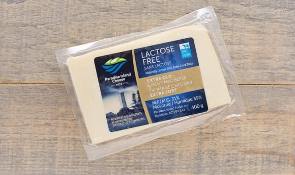 Lactose Free Extra Old White Cheddar