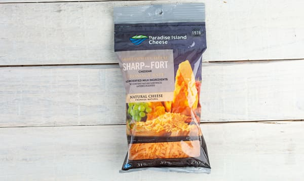 Sharp Cheddar Shredded Cheese