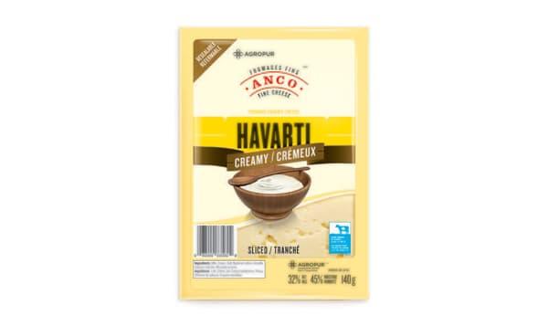 Creamy Havarti - Sliced
