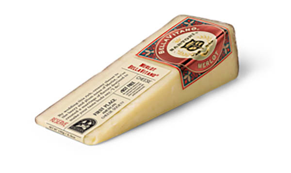 Merlot Cheese Wedge