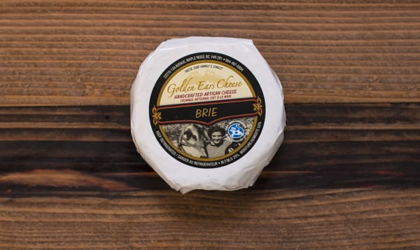 Grass-fed Triple Cream Brie - Canadian Grand Prix Cheese Awards Finalist