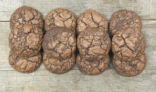 Triple Choco Brownie Cookie