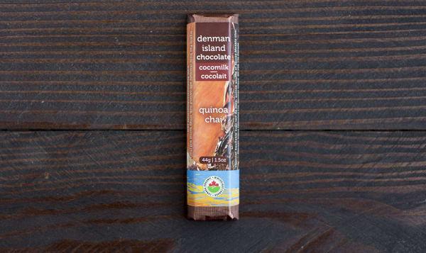 Organic Quinoa Chai Dark Chocolate Bar