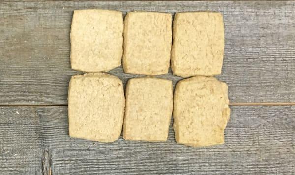 Organic Island Wheat Shortbread