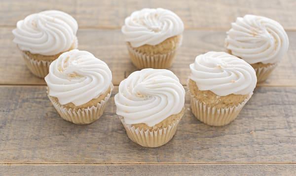 Gluten Free Vegan Coconut Cupcakes