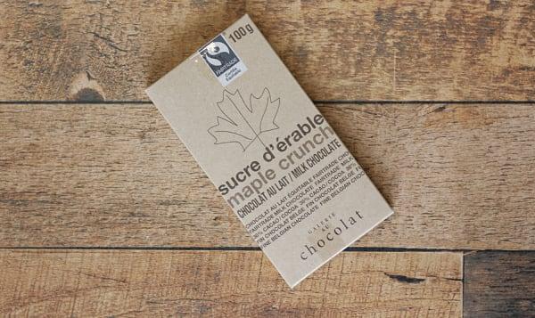Organic Maple Crunch Milk Bar