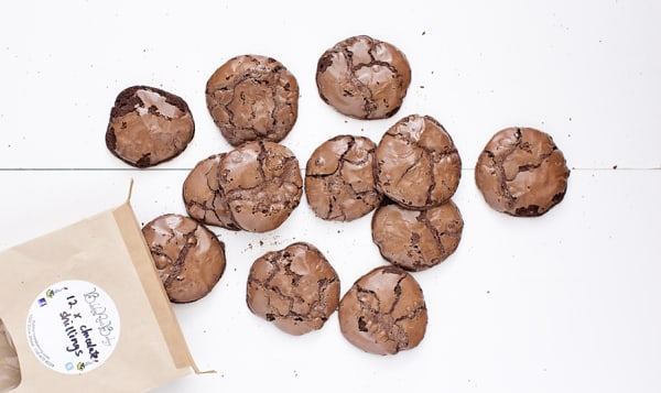 Chocolate Shilling Cookies