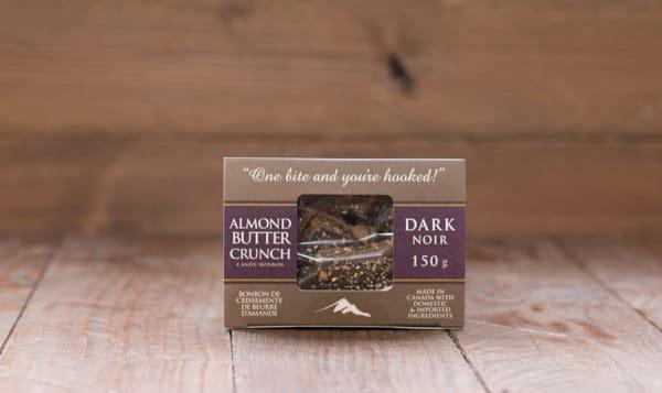 Dark Chocolate Almond Butter Crunch