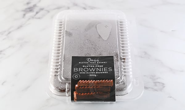 Brownie Slab with Chocolate Ganache (Frozen)