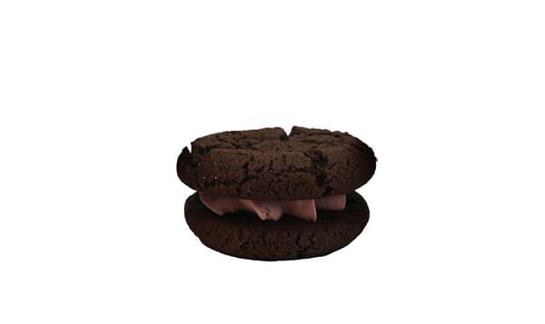 Mini Sandwich Cookies - Dark Chocolate & Raspberry