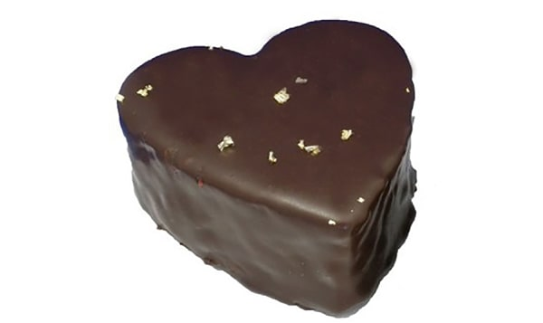 Individual Chocolate Heart Cakes