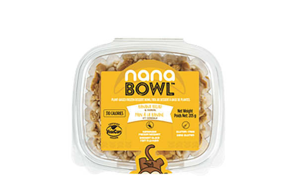 Organic Banana Bread & Crunchy Cereal Nanabowl (Frozen)