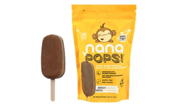 Organic Chocolate Peanut Butter Nanapops (Frozen)