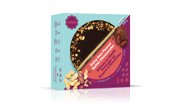 Dairy-Free Peanut Butter Cheesecake (Frozen)