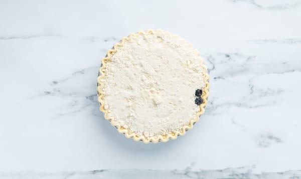 Blueberry Goat Cheese Crumble Pie 9  (Frozen)