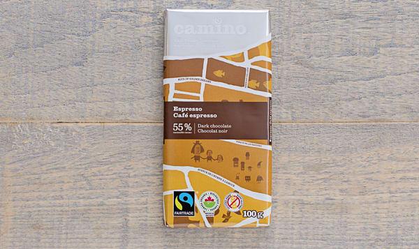 Organic Espresso Chocolate Bar