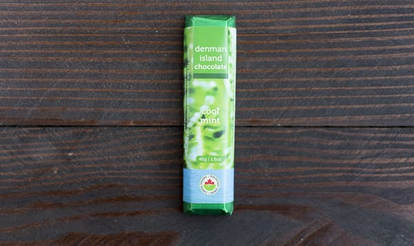 Organic Cool Mint Chocolate Bar