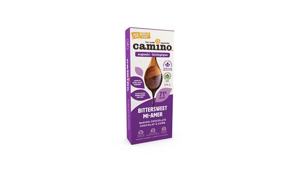 Organic Bittersweet Chocolate Bar