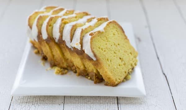 Lemon Loaf - Sliced