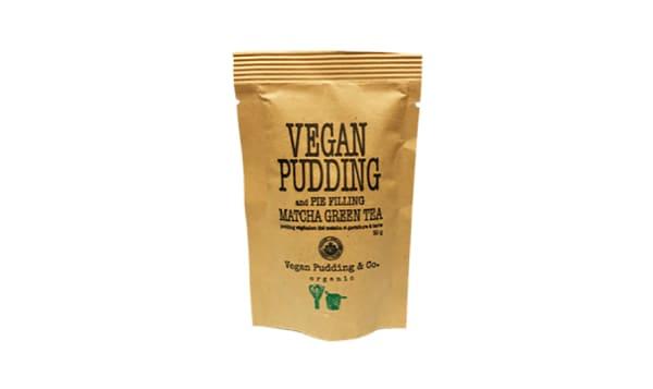 Organic Matcha Green Tea Pudding & Pie Filling