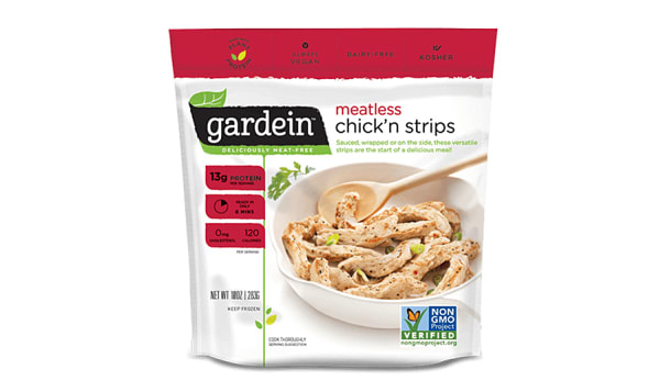 Meatless Chicken Strips (Frozen)