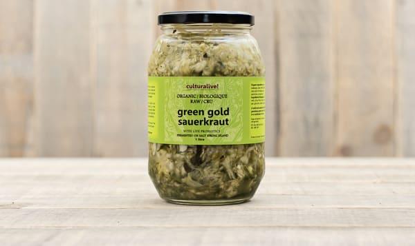 Green Gold Sauerkraut