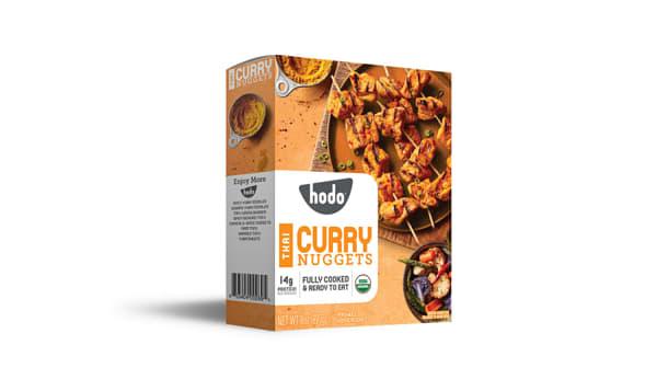 Organic Thai Curry Tofu Nuggets