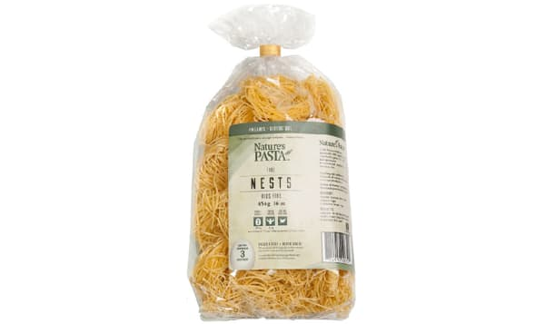 Organic Vermicelli Egg Pasta