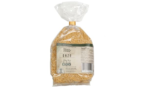 Organic Orzo Egg Pasta