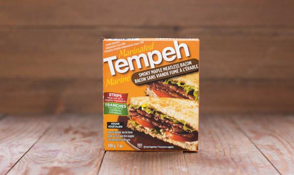 Tempeh - Smoky Maple Meatless Bacon - Vegan