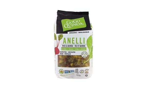 Organic Quinoa Anelli Pasta