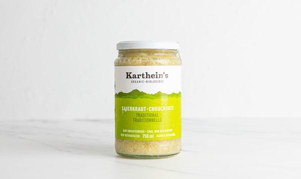 Organic Unpasteurized Sauerkraut - Traditional