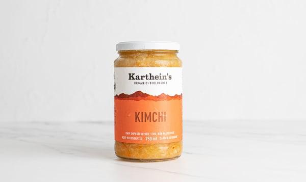 Organic Unpasteurized Sauerkraut - Kimchi