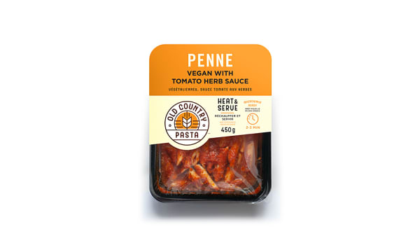 Penne in Tomato Herb Sauce