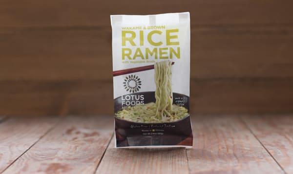 Wakame Ramen with Vegetable Broth