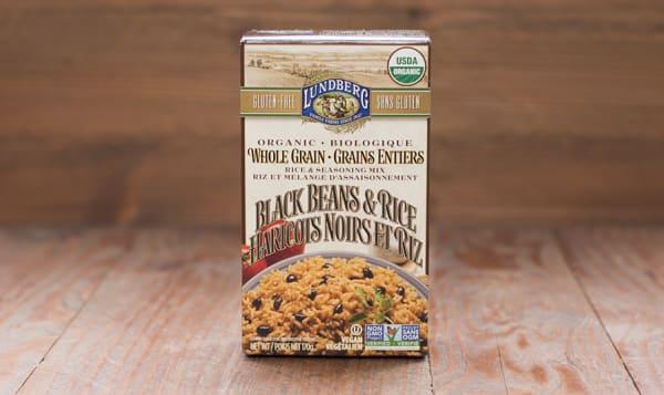 Organic Whole Grain Black Bean & Rice